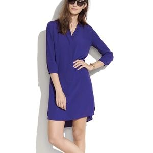 Madewell Broadway and Broome Purple Tunic Dress